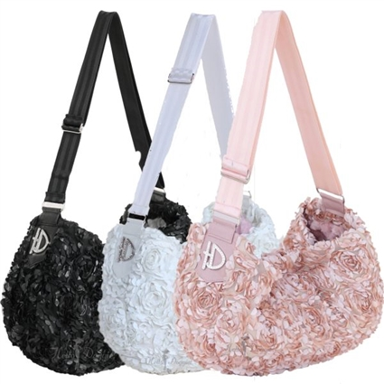 Luxury Messenger Sling Small Dog Carrier Purse