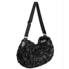 Black Luxury Sling Small Dog Carrier Purse