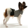 Houndstooth Designer Dog Coat  | The Doggie Market