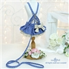 Blue Melody Small Dog Designer Harness Dress