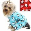 Flannel Dog Pajamas | Penguins