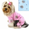 Flannel Dog Pajamas | Teddy Bear Love