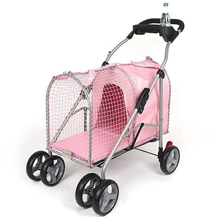 Kittywalk SUV Dog Pet Stroller - Pink