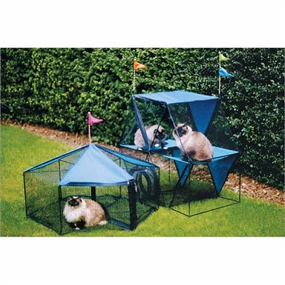 Kittywalk Carnival Outdoor Cat Enclosure