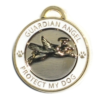 Guardian Angel Dog Cat Collar Charm | LP-PEANS