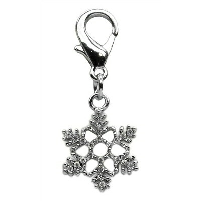 Snowflake Dangling Dog Cat Pet Collar Charm