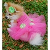 Hot Pink Party Small Dog Dress