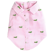 Pink Preppy Dog Shirt