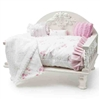 Shabby Chic Dog Cat Day Bed