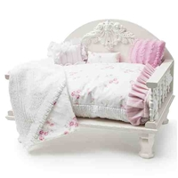 Luxury Furniture Style Dog Cat Daybed | Shabby Chic