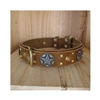 Deputy Deluxe Leather Dog Collar