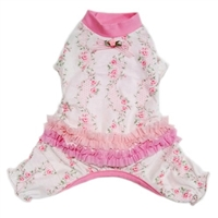 Dog Pajamas | Pink Ruffles