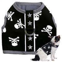 Skull Small Dog Harness