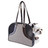 Metro Couture Designer Dog Purse Carrier | Leather