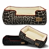 Kalahari Giraffe Print Lounge Dog Bed