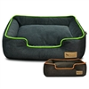 Urban Plush Velour Designer Dog Bed