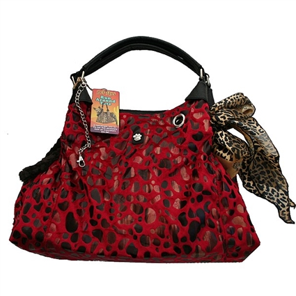 Red Runaround Dog Purse Tote Carrier