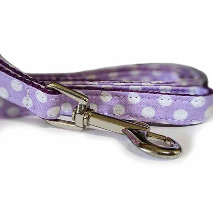 Designer Dog leash | dog leads | Rainbow Dots