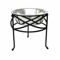 Raised dog bowls | Mesh Elevated Dog Bowl Feeder