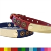 Shotgun Shell Leather Dog Collar | Personalized