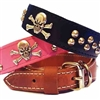 Leather Dog Collars | Skull and Studs