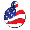Personalized Dog ID Tags | USA Flag |  Engraved