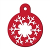 Dog ID Tags | Snowflake | Personalized, Engraved