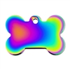 Dog ID Tags | Rainbow Bone  | Personalized