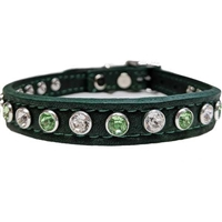Lucky Pooch Leather Small Dog Collar