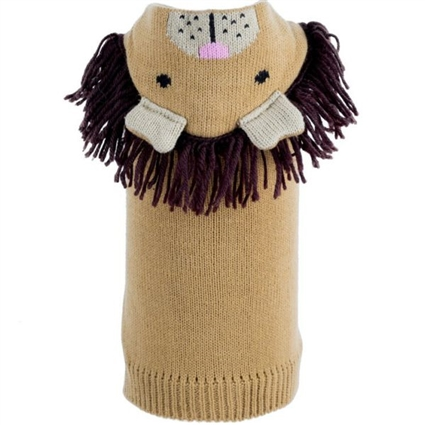 Lion Hooded Dog Sweater | Halloween Costume