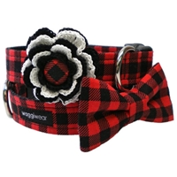 Buffalo Plaid Dog Cat Collar