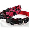Hearts of Love Designer Dog Collar
