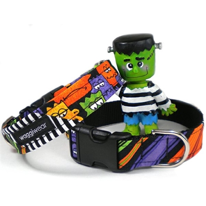 Colorful Monsters  Dog Cat Collars