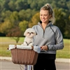 Tagalong Dog Cat Pet Wicker Bicycle Basket
