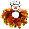 Halloween Pumpkin Smoochers Pet Scrunchies