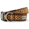 Giraffe Print Dog Collar