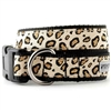 Cheetah Print Dog Collar