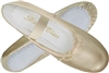 Metallic Gold Child Ballet Slippers by Trimfoot - You Go Girl! Dancewear