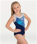 Body Wrappers Stars and Stripes Child Gymnastics Tank Leotard - You Go Girl Dancewear