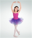 Body Wrappers Tri-Tone Tutu Skirt
