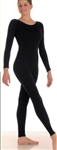 Body Wrappers Adult Long Sleeve Nylon Unitard