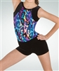 Eurotard Child Metallic Gymnastics Shorts