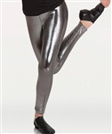 Body Wrappers Tween Metallic Footless Pant
