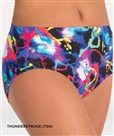 Body Wrappers Adult Thunderstruck Trendy Dance Brief