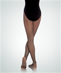 Body Wrappers Women's Seamed Fishnet Tights - You Go Girl Dancewear