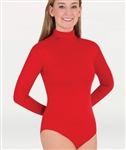 Body Wrappers Adult and Child Long Sleeve Turtleneck Leotard