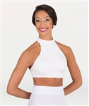Body Wrappers Adult Mock Neck Midriff Bra Top - You Go Girl Dancewear
