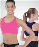 Body Wrappers Pro Wear Girls Razorback Bra  - You Go Girl Dancewear
