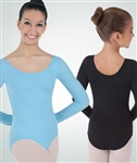 Body Wrappers Plus Size Long Sleeve Leotard - You Go Girl Dancewear