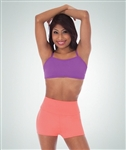 Body Wrappers Adult High Waist Boy-cut Shorts - You Go Girl Dancewear